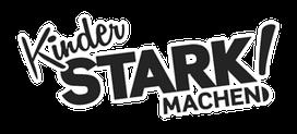 Fachsportschule - Kinder Stark machen Logo mit Rand