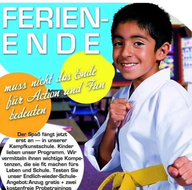 Ferienende - Die Schule geht wieder los, wir bieten euch eine Klasse Sportaktivität für den Alltag.