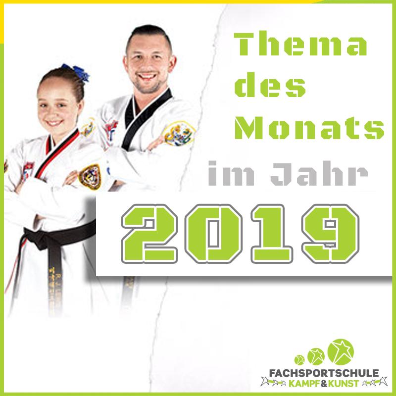 Kampfsport & Selbstverteidigung Themen 2019