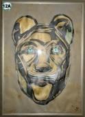 Ägypt.Katzenmaske Best. Nr. 12A