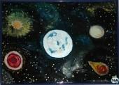 Universum >Hinterglasmalerei Best. Nr. 16B