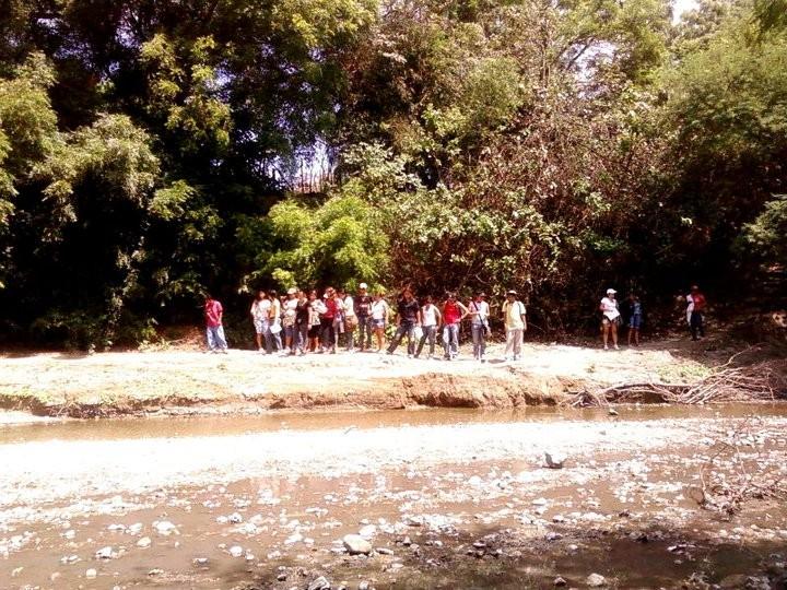 Río en Agua Blanca, Puerto López.