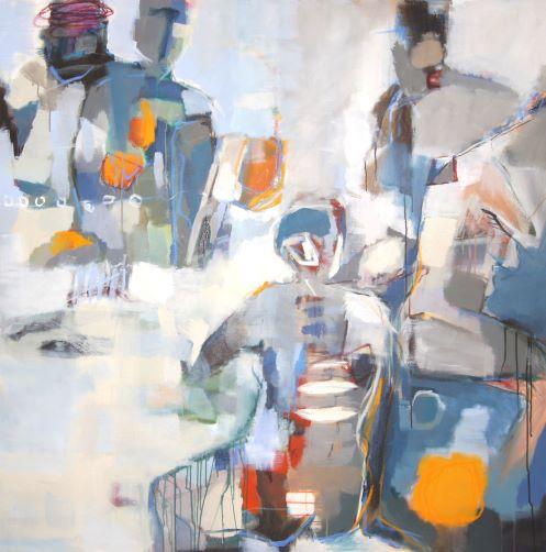 n° 1611 - 2016 - acryl/öl auf leinwand - 150x150