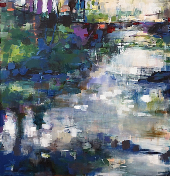 Emden - 2019 - acryl auf leinwand - 150x140