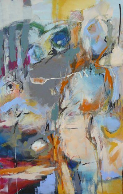 n° 1551 - 2015 - acryl/ ölkreide auf leinwand - 116x75