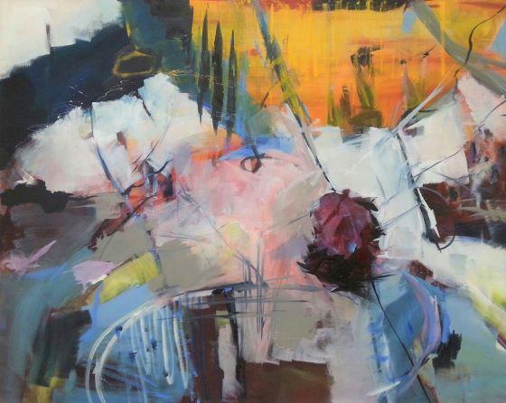 fiori - 2018 - acryl auf leinwand - 95x120