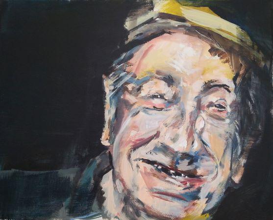 franzose - 2017 - acryl auf leinwand - 40x50