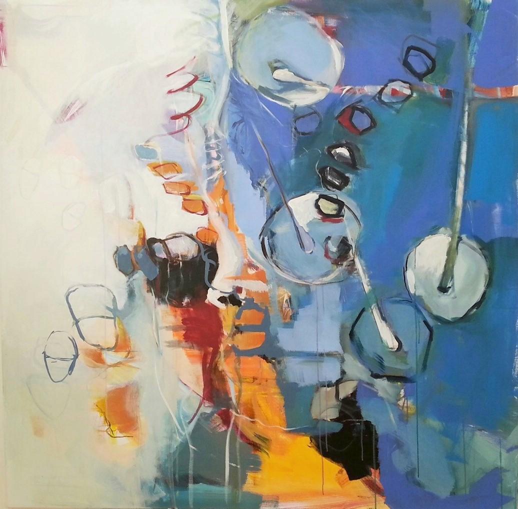 n°1607 - 2016 - acryl auf leinwand - 150x150