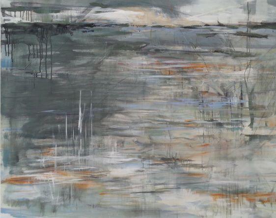 n° 1541 - 2015 - acryl auf leinwand - 80x100