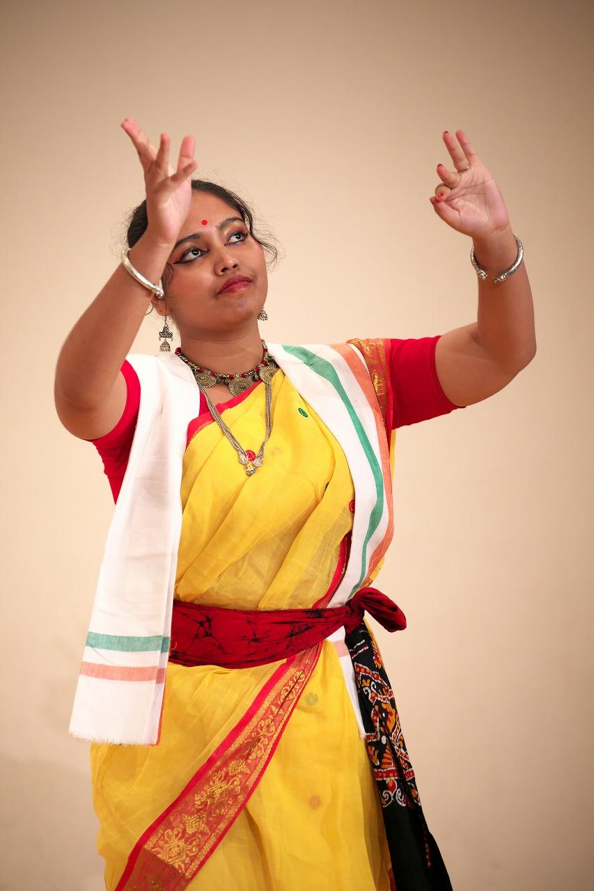 シャンティニケタンダンス /Debangana Bhattacharya