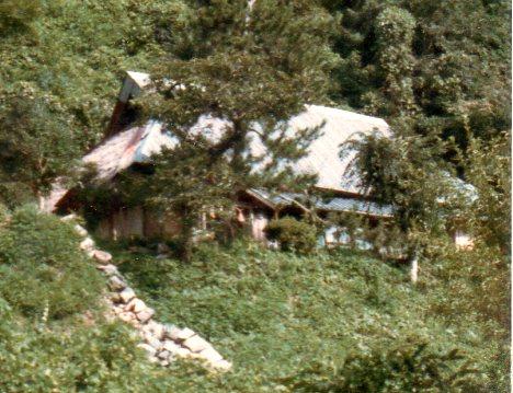 三代目が新築し、七代目が修復した坂元の居宅。現在消失。