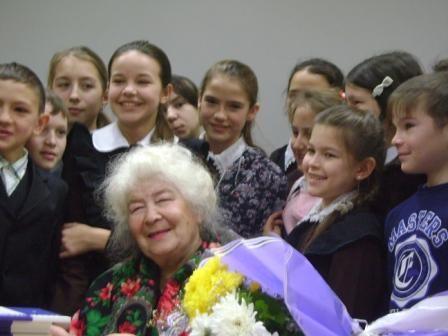 Клара Булатова белән очрашу