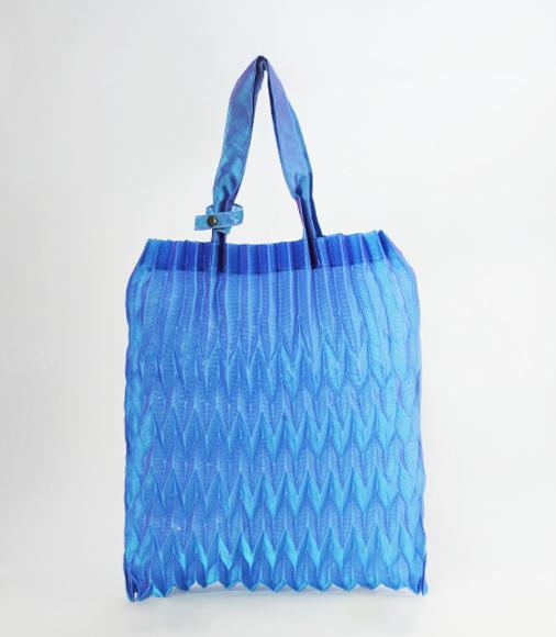 ブルー(オーガンジー2枚仕立て)