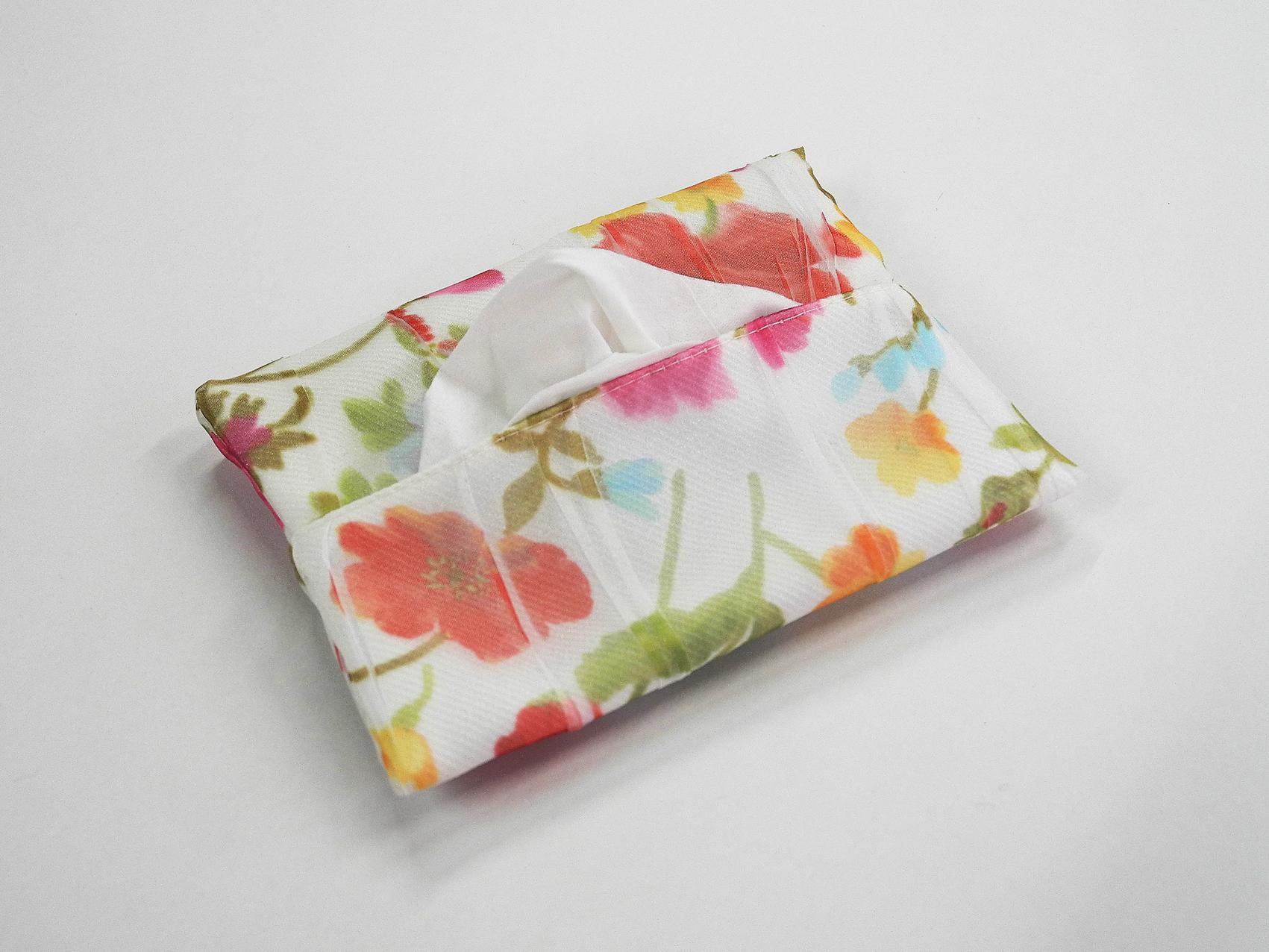ポケットティッシュケース(お花)