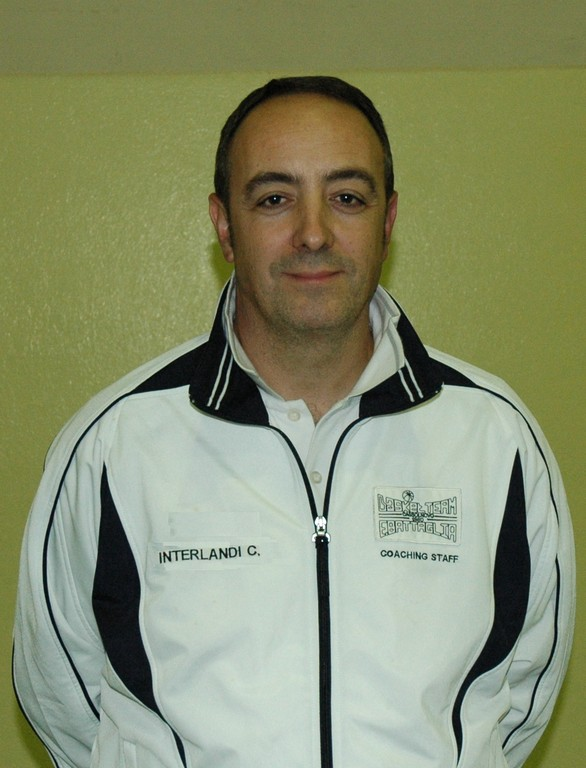 Vice coach Carlo INTERLANDI