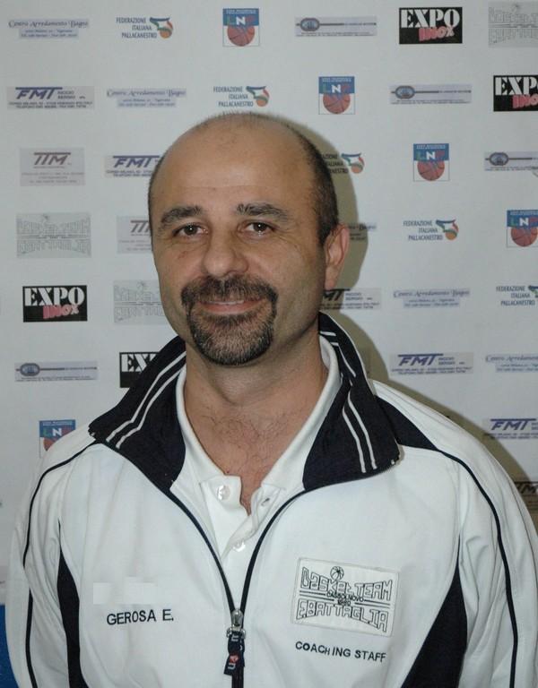 Vice coach Enrico GEROSA