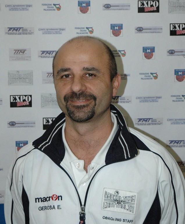 Enrico Paolo Gerosa - Vice Allenatore C Dil. e Responsabile del Settore Giovanile e Minibasket