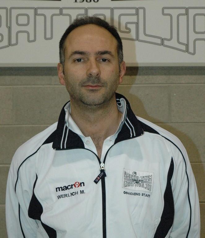 Massimo Werlich - Vice Allenatore C Dil. e Allenatore Giovanili
