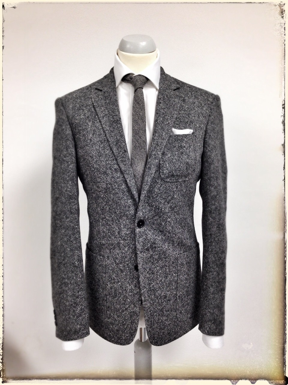 maßsakko | ariston | tweed