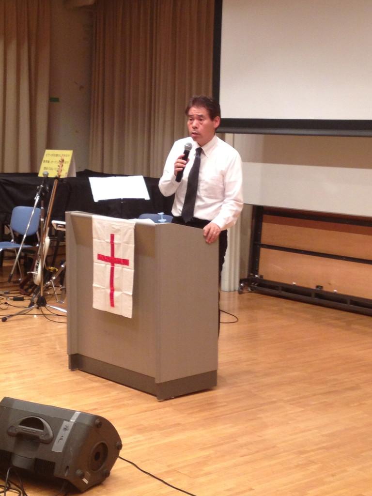 神戸アンテオケ教会「ヨハネ森牧師」を通してのメッセージ