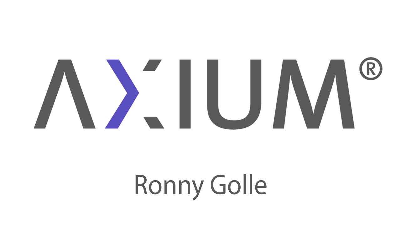 AXIUM, Ronny Golle
