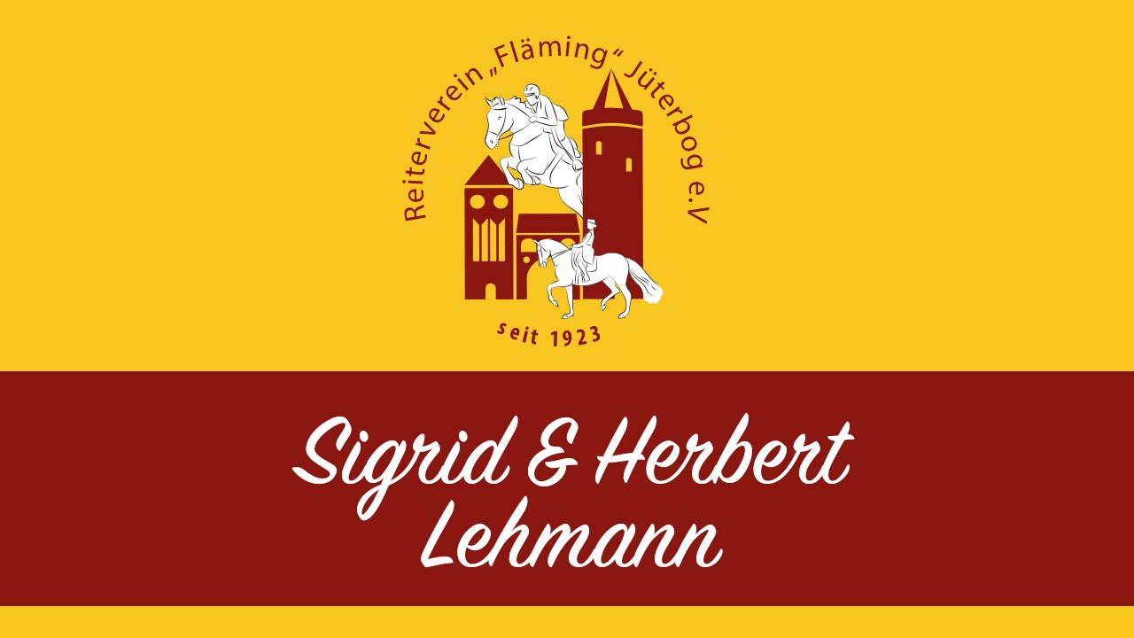 Sigrid & Herbert Lehmann