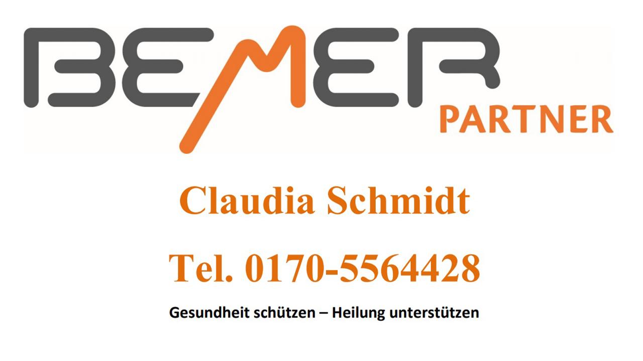 Bemer Partnerin,  Claudia Schmidt