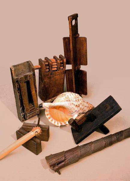Musée de CERVIONE Instruments du vacarme
