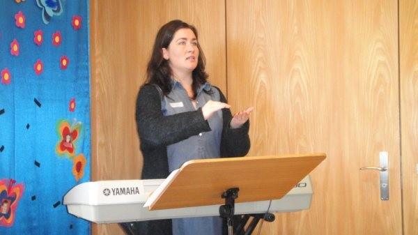 Stimmbildung mit Sopranistin Margret Hranfsdottir