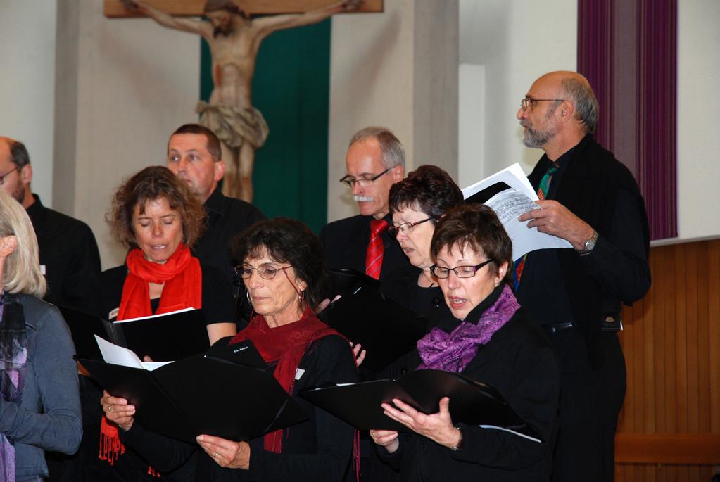 Hauptprobe in der Katholischen Kirche Uster