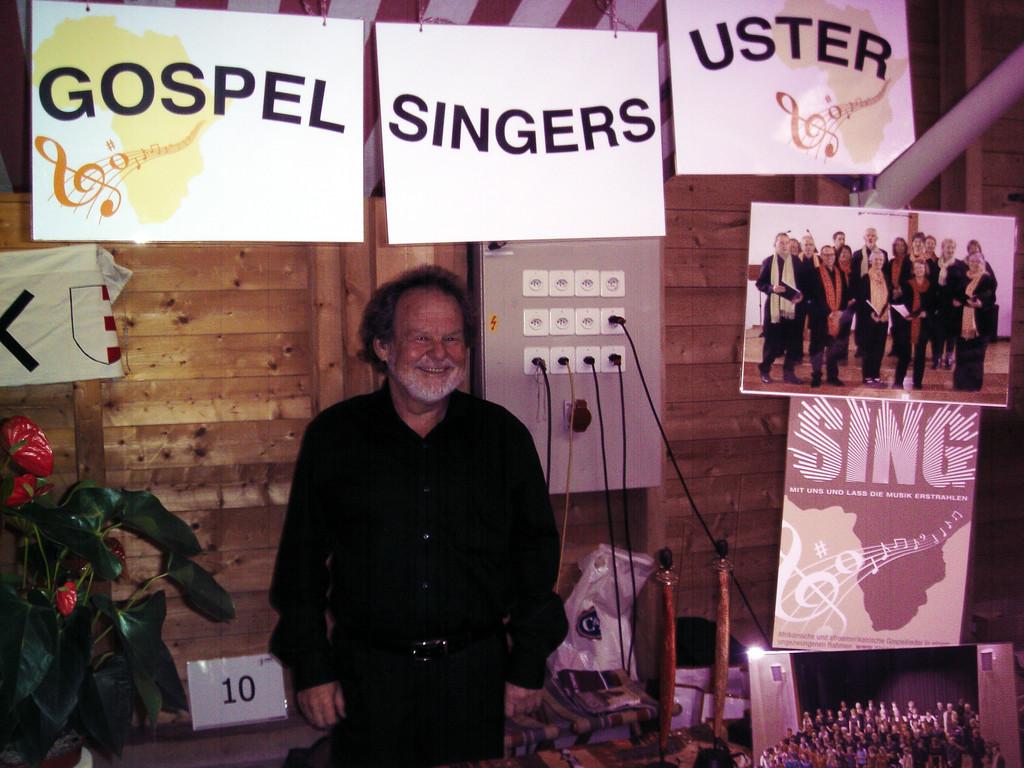 Stand der Gospel Singers Uster  am Neuzuzügertag