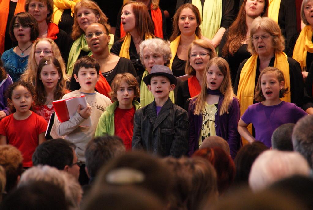 mit den Kindern der Musikschule Greifensee, Uster