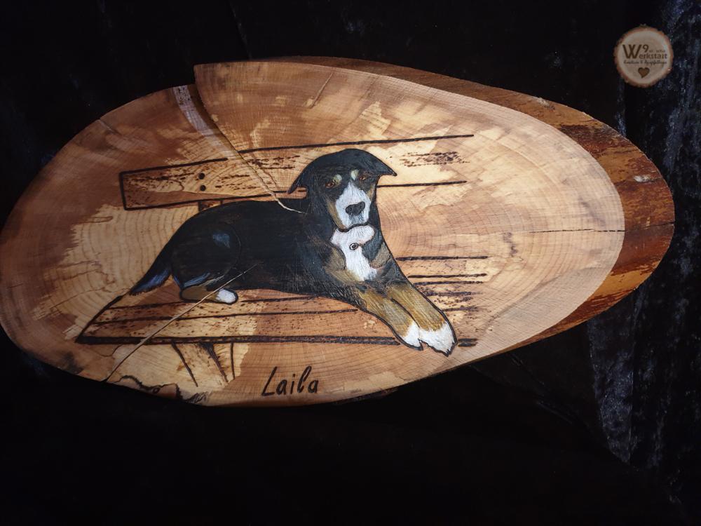 Tierportrait_auf_Holz