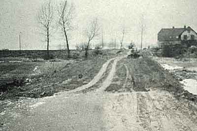Straße nach Fliegenberg (Haus Sonnblick)