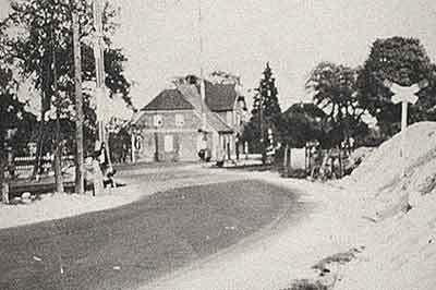 Bahnübergang bei Reimers(Heute Alte Lüneburger Straße)