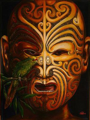 Ein Bild von dem Künstler Yuma, Maori, Kunst Kiel, Künstler aus Kiel, Yuma Art, Gemälde kaufen