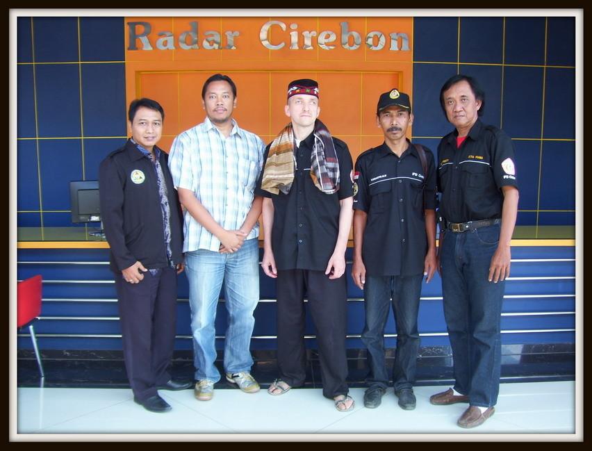 Besuch bei der Zeitung Radar Cirebon