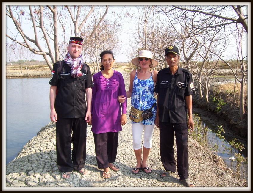 Ki Mas Raden-Manu-Fera und ich in Cirebon