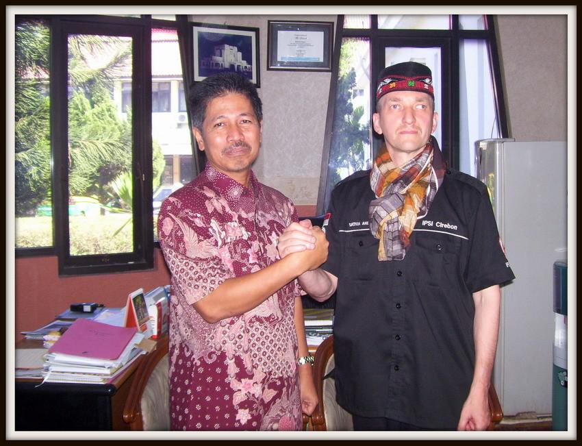 Besuch beim Bürgermeister der Stadt Cirebon