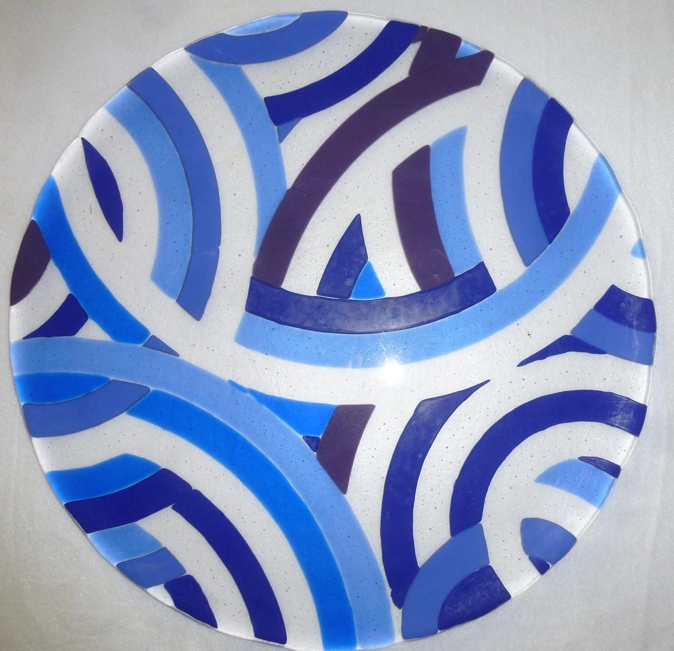 """Bogenplatte"" als Tortenplatte ø zirka 38 cm Preis Fr. 150.--"