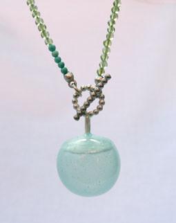 peridot turkoois siliconenrubber zilver