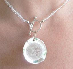 eucalyptus hars, zilver bergkristal