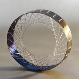 armband titanium elastisch nylon