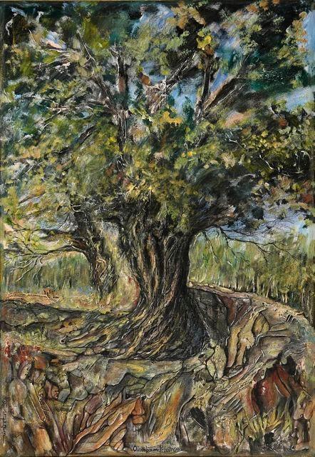 Ölbaum in der Provence