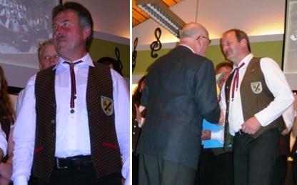 Foto links Johannes Scheid - Foto rechs - Johann Diederichs und Walter Heintz