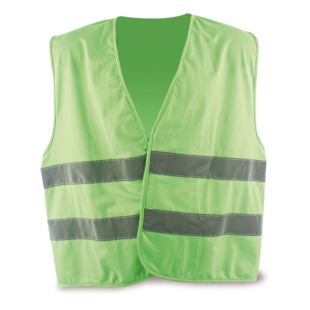 chaleco reflectante verde