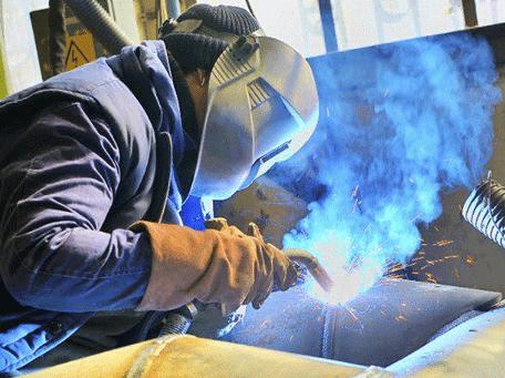 Proceso de soldadura con núcleo fundente FCAW