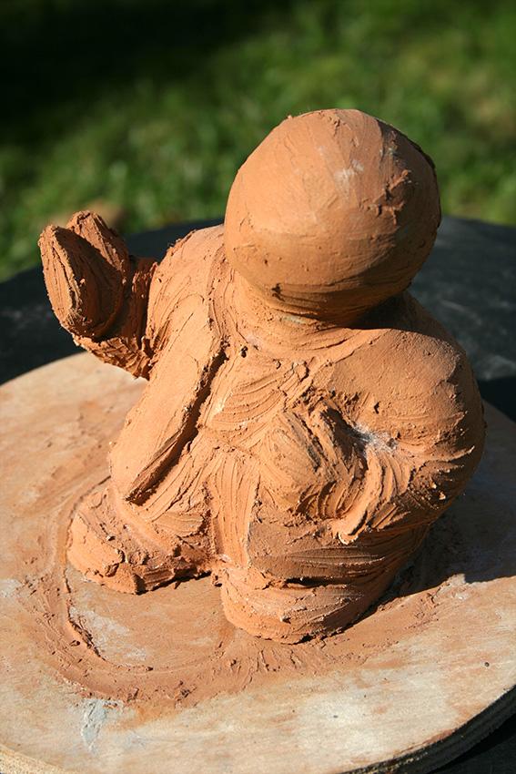 modelage-études pour des sculptures en petit format