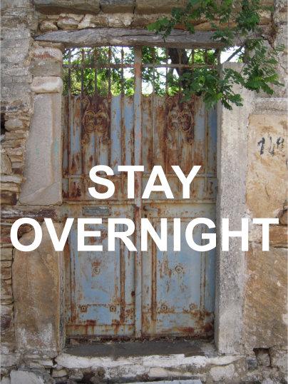 Stay overnight in Naxos - enjoy naxos