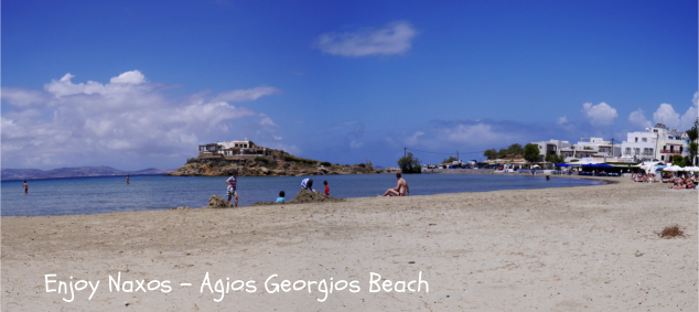 Enjoy Naxos Greece Agios Georgios Beach griekse eiland